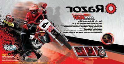 Razor High-Torque Bike, Red
