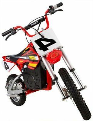 Razor MX500 Dirt High-Torque Dirt Bike, Red
