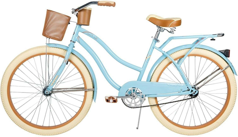 nel lusso 24 inch cruiser bike womens