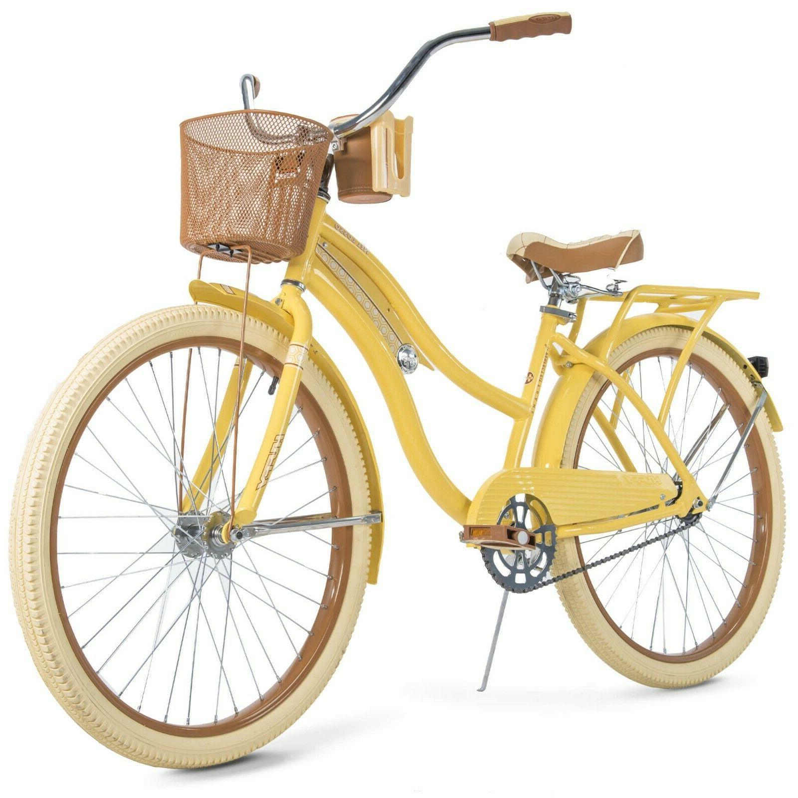 Huffy Nel Lusso 26 inch Cruiser Bike - Yellow