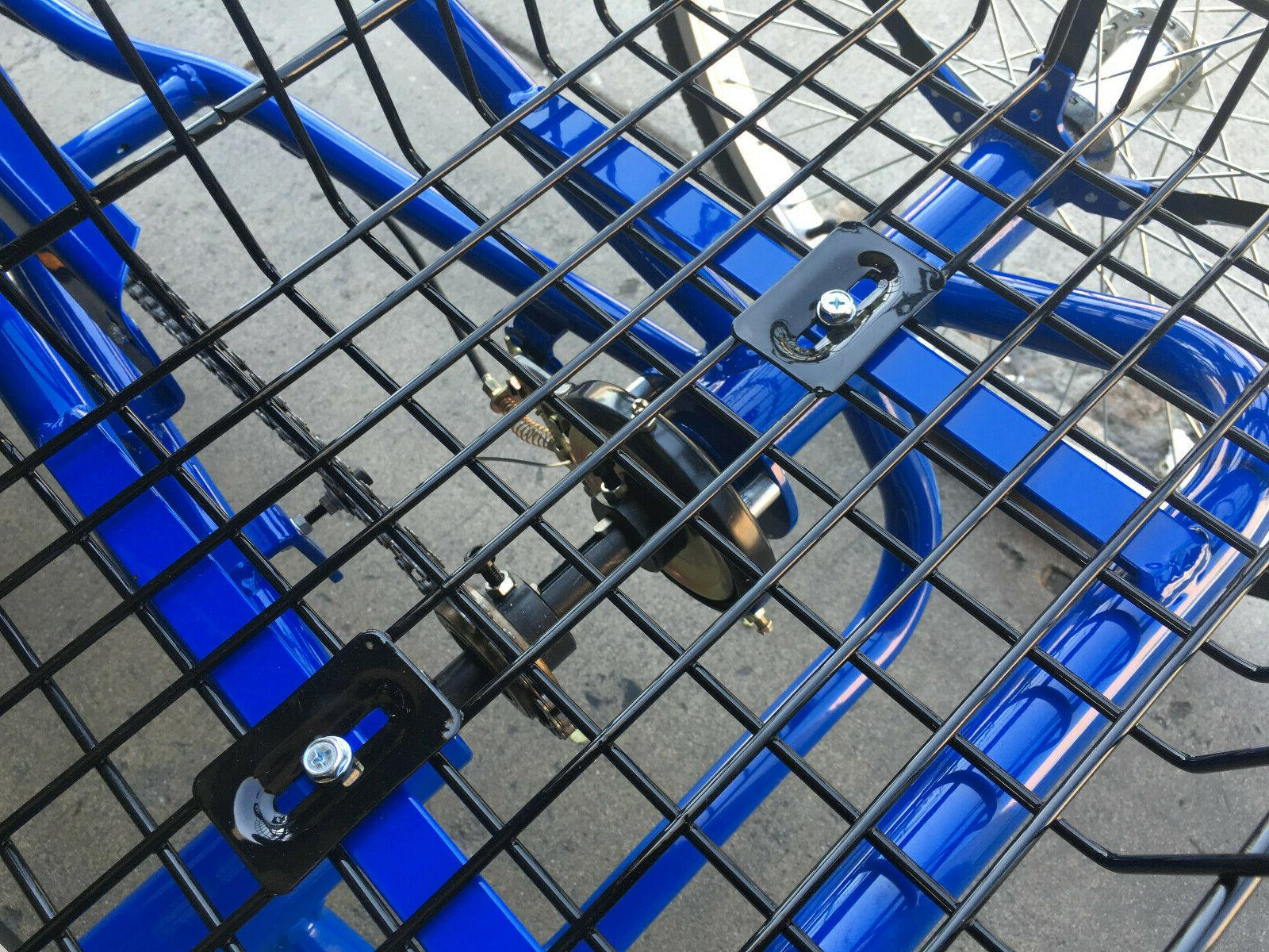 "26"" Folding Aluminum Tricycle Blue Only"