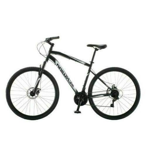 new 700c glenwood men s hybrid bike