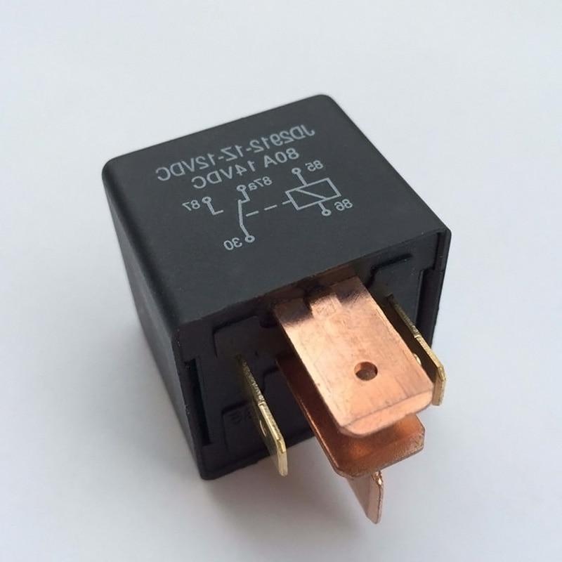 automotive relay 12vdc 80a 5 pin car