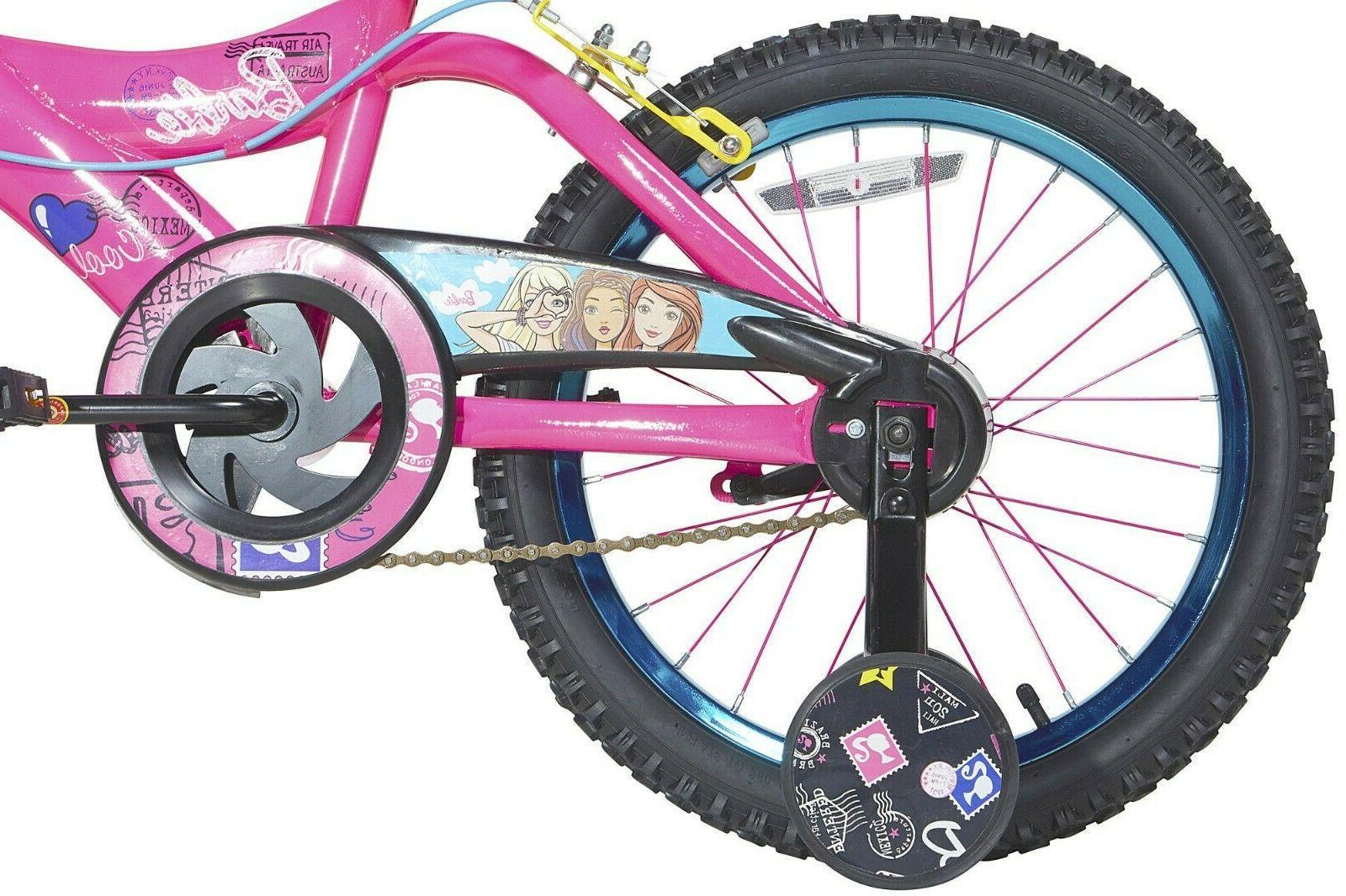 NEW Barbie Bike, Pink, brakes, Wheels,