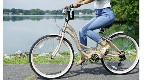 NEW Kent Women's Gold Bicycle Girls SHIPPING