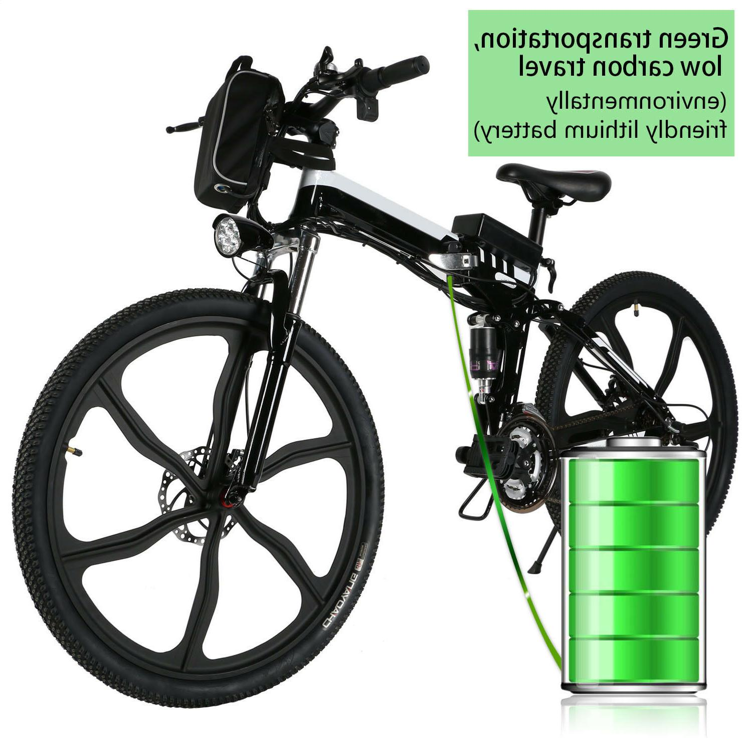 Brand 14/18.7/26inch Folding Electric Power Bicycle Mountain