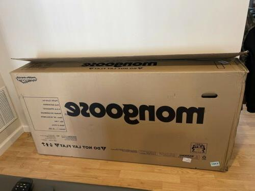 "NEW Mongoose Fat x 4"" speeds Silver"