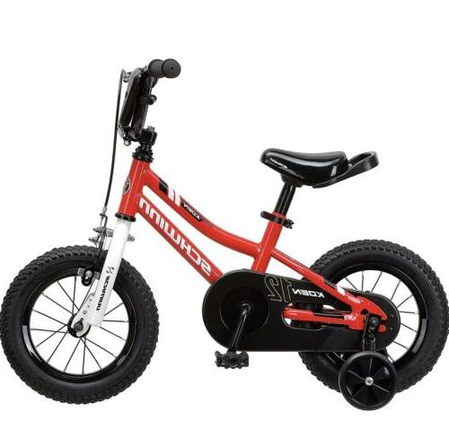 Outdoor Bike for &Kids years training Bicycles Red