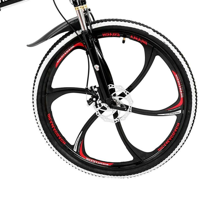 Mountain 26 inch Folding Bike Double Brake