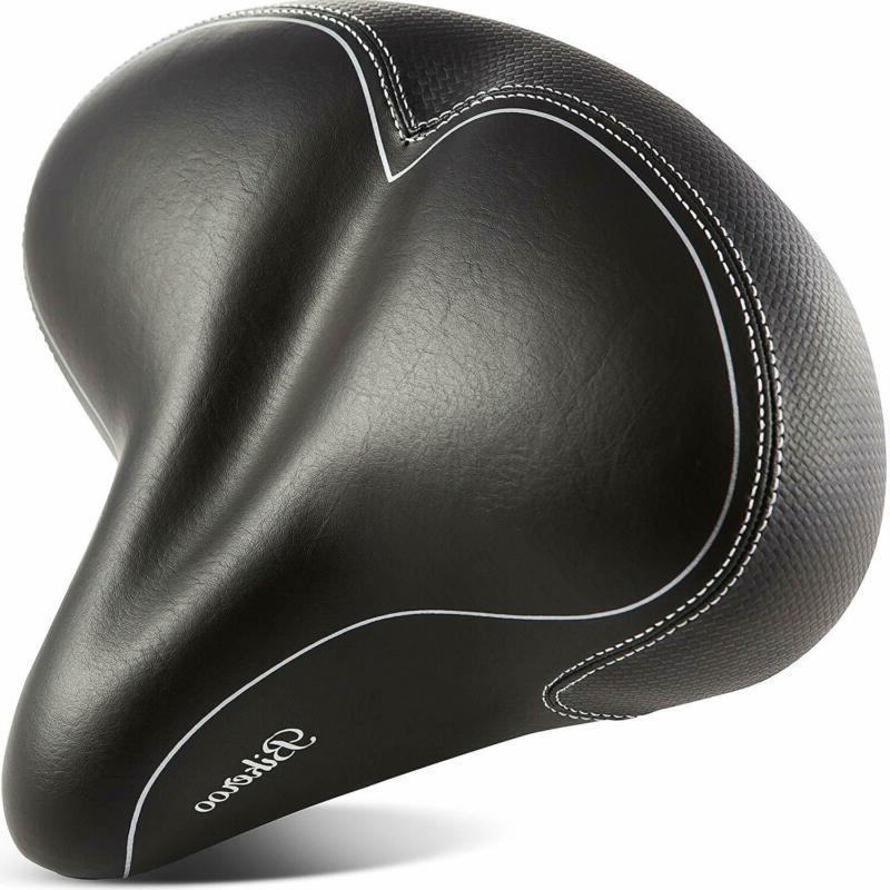 Bikeroo Oversized Comfort Bike Seat Most Comfortable Replace
