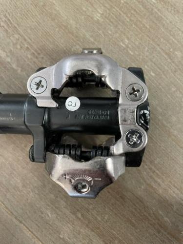 shimano pd-m520 bike / gravel road pedals.