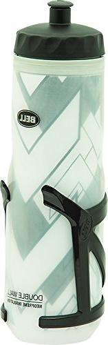 Bell Quencher 550 Insulated Bottle Plus Poly Cage, Black, 20