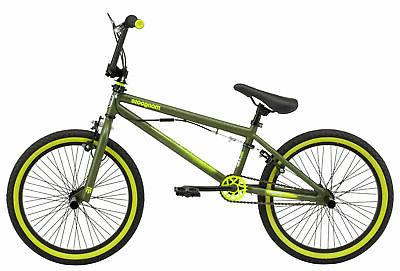 Mongoose BMX bike, 20-inch wheel, Boys, Green