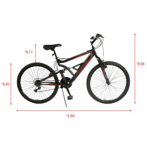 "26"" Speed Bicycle Shimano & Full"