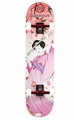 Punisher Skateboards Samurai Complete Skateboard with Convac