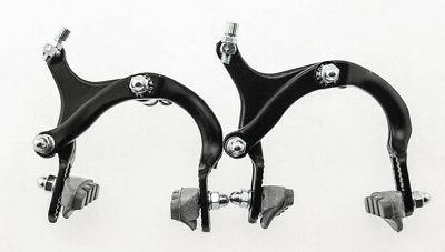 Power Brake Side Pull Caliper Road / BMX Bike Brakeset Black