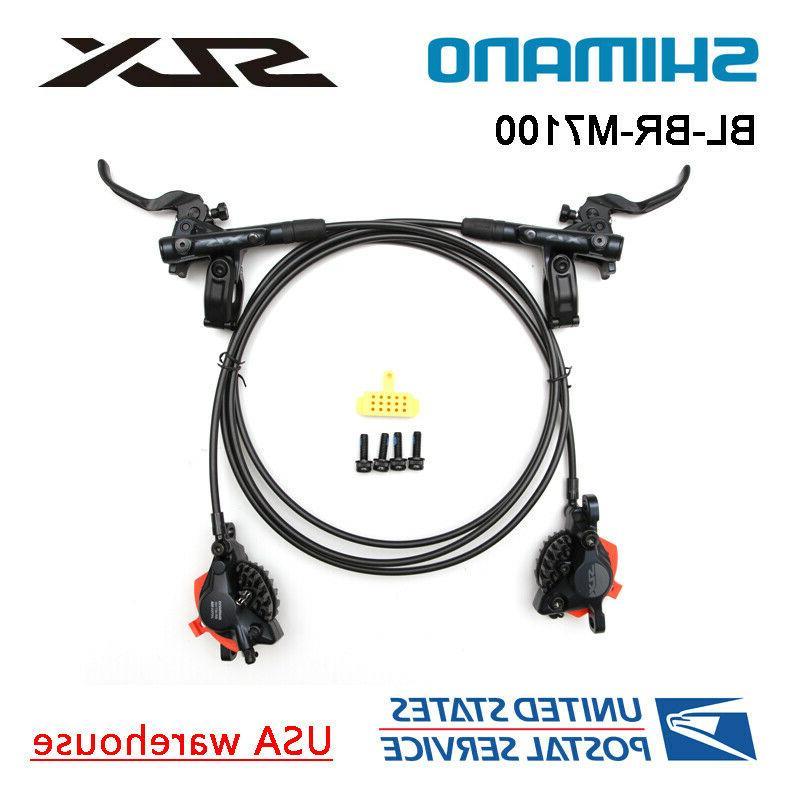 slx br bl m7000 bike mtb hydraulic