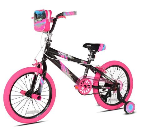 Girls Kent Sparkles Bike 18 Inches Rear Foot Brake Handbrake