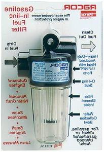 Racor SPIN ON FUEL FILTER WATER SEPARATOR GAS