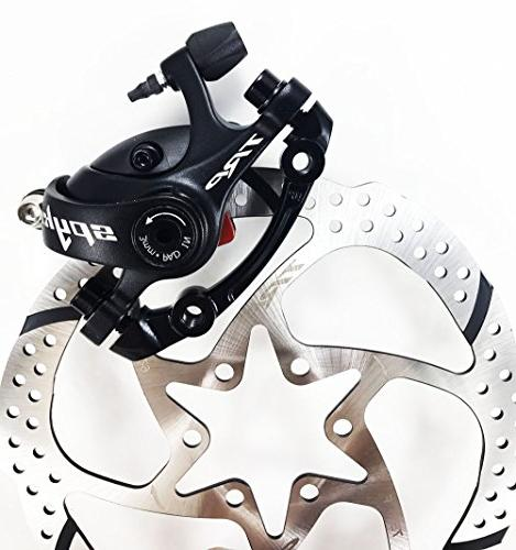 spyke mechanical disc brake includes