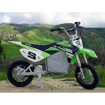 Razor SX500 Jeremy Motorcycle Motocross Bike, Green
