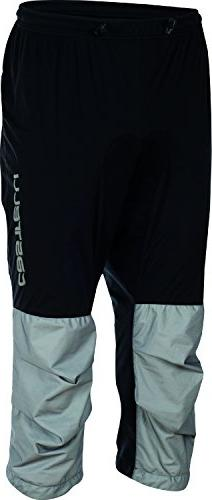 Castelli Tempesta 3/4 Pant - Men's Black/Gray, XL