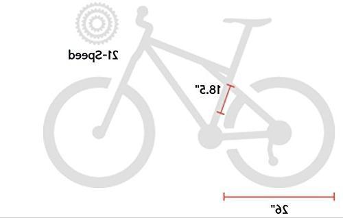 Kent KZ2600 Dual-Suspension Bike, 26-Inch