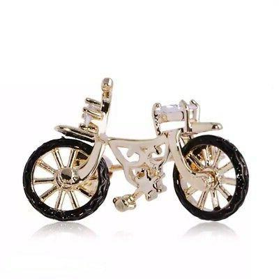 vazira queen bicycle brooch