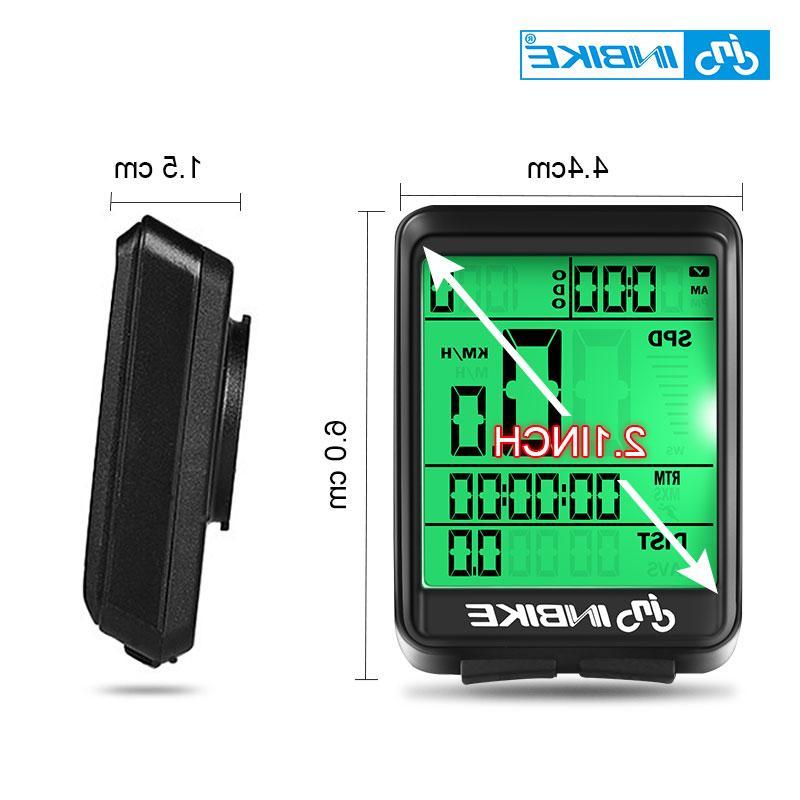 INBIKE Wireless <font><b>Bike</b></font> <font><b>Cycling</b></font> Speedometer Watch