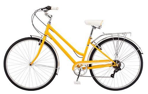 Schwinn Wayfarer Wheel Bicycle, Mango,