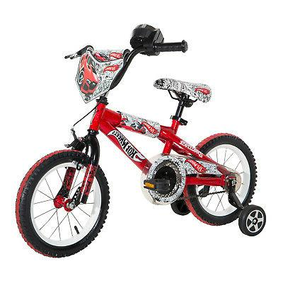 "Hot Wheels Dynacraft Boys BMX Street//Dirt Bike with Hand Brake 16/"""