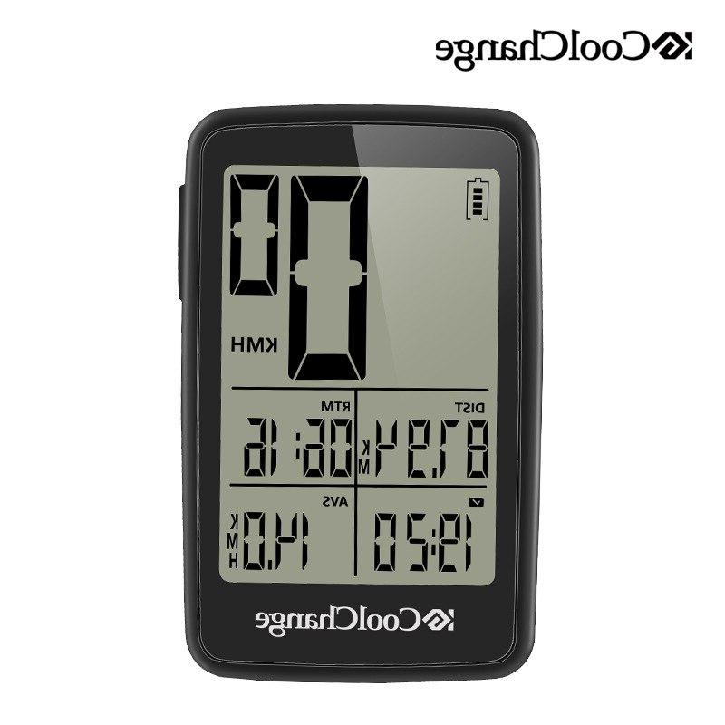 Wired Wireless <font><b>Cycling</b></font> <font><b>Computer</b></font> Waterproof Rainproof Cycle Rechargable Speedometer Odometer