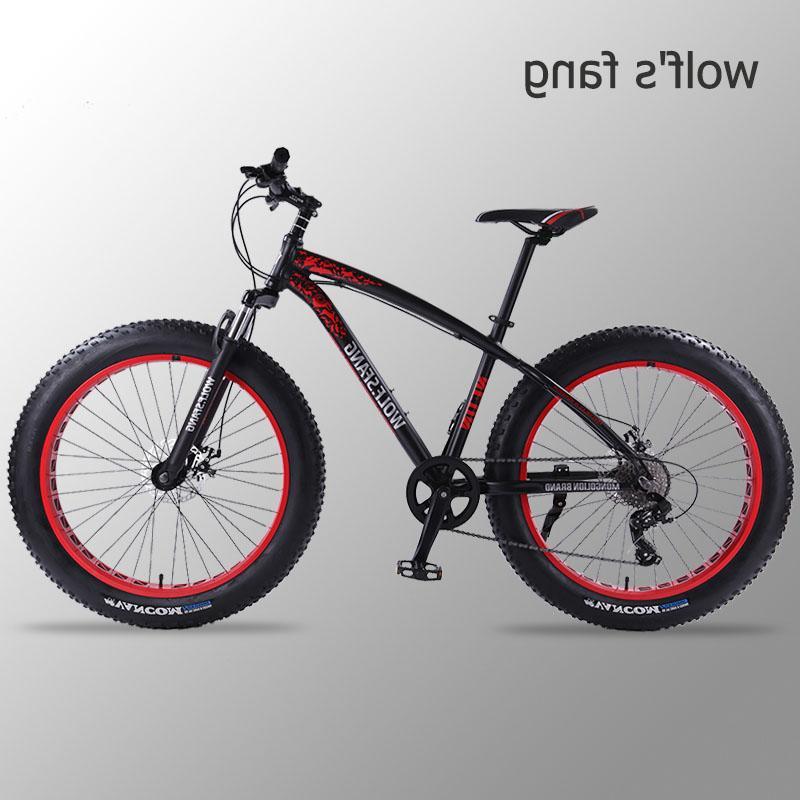 Wolf's fang <font><b>Bicycle</b></font> Mountain 26 Fat Fat Man <font><b>bikes</b></font> free
