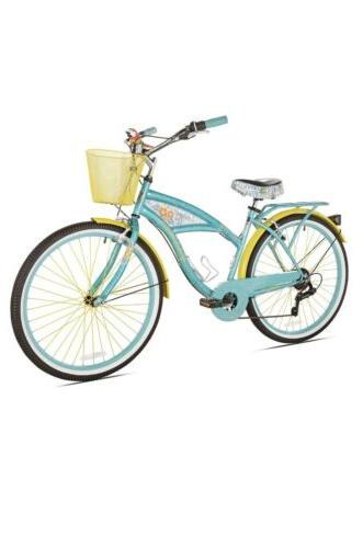 "Kent Women Cruiser Bike 26/"" Beach City Comfort Commuter Riding Bicycle Blue New!"
