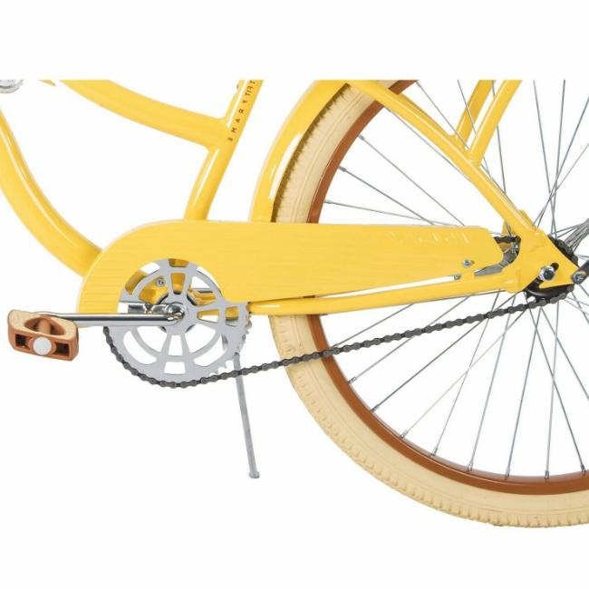 Huffy,Women's Cruiser Lusso with Perfect Fit Yellow