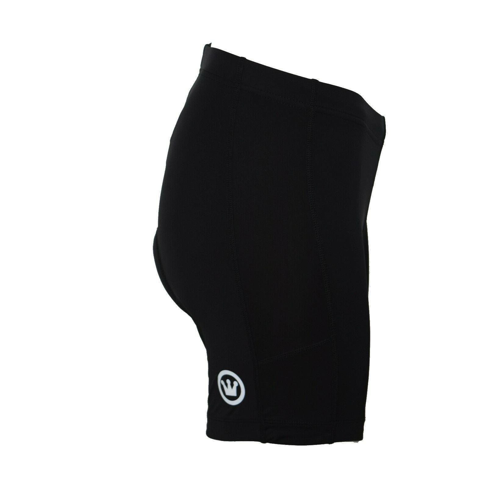 CANARI Shorts Black Bike Spandex Large NWT