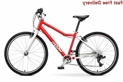 """Woom 5 Pedal Bike 24"""", 8-Speed, Ages 7 to 11 Years"""