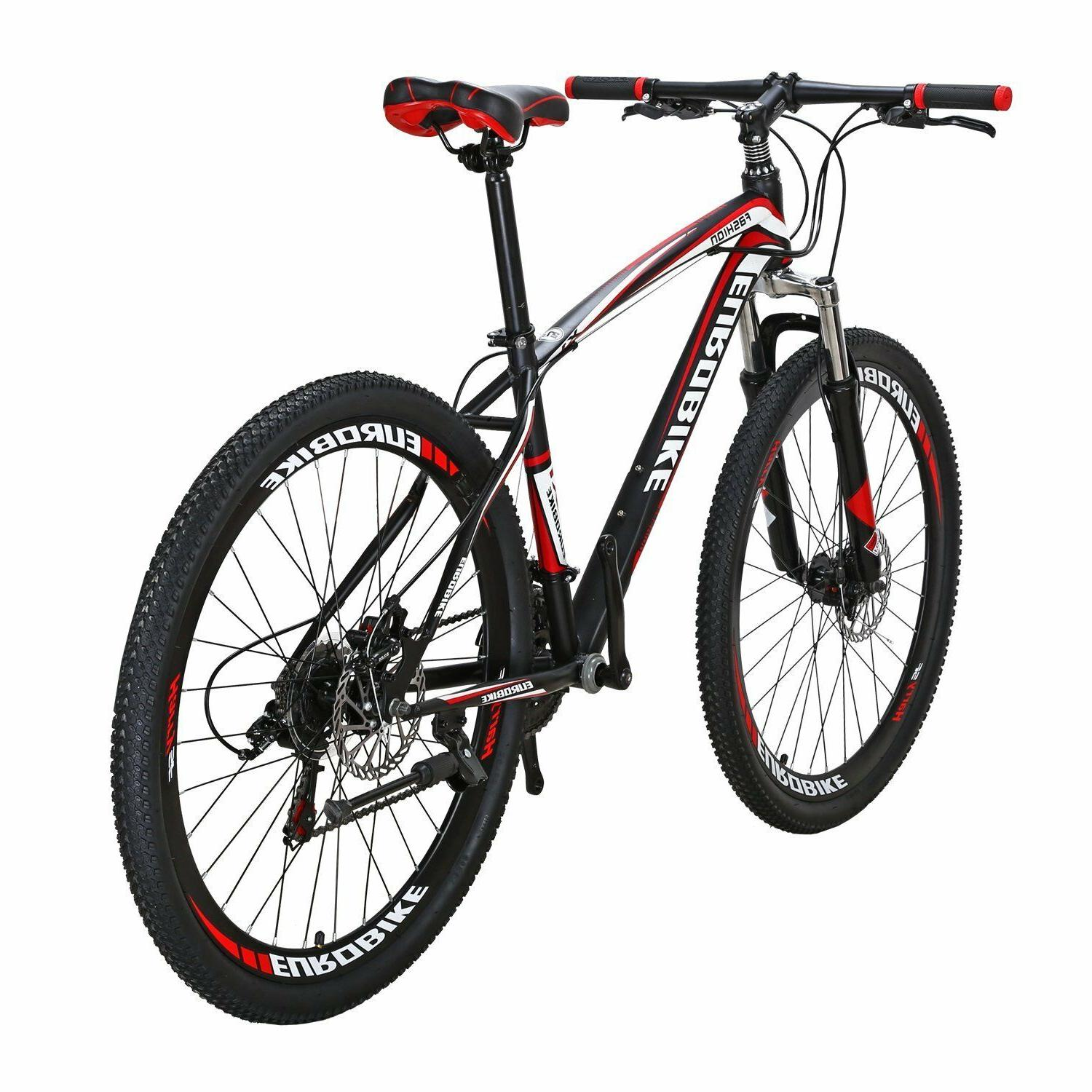X1 Mountain inches Wheels Bicycle MTB Front Suspension Mens