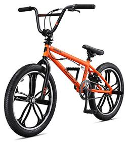 "Mongoose Legion Mag 20"" Wheel Freestyle Bike, Orange, One Si"