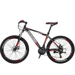 "Light Aluminifum Frame Mountain Bike  21 Speed 26"" Bicycle M"