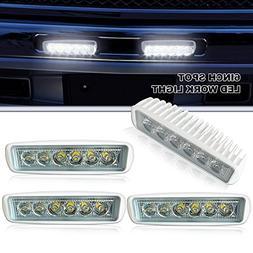 "Led Light Bar Spead-Vmall 4PCS 6"" 18w Spot Driving Fog Light"