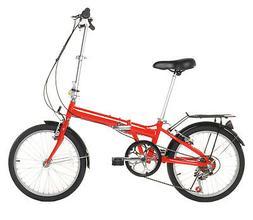 "Vilano 20"" Lightweight Aluminum Folding Bike Foldable Bicycl"