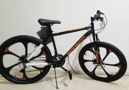 Mongoose Mack Mag Wheel Mountain Bike, 26-inch Wheels, 21 Sp