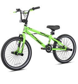 "Madd Gear 20"" Freestyle BMX Boy's Bike, Green"