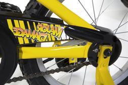 magna major damage bike yellow
