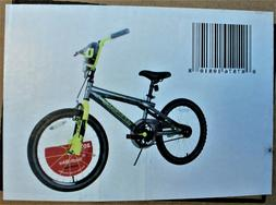 "Dynacraft Magna Rip Claw Boys BMX Bike 20"", Matte Grey/Yello"