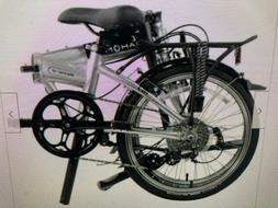 "Dahon Mariner D8 2019 20"" Brushed Silver Folding Bicycle"