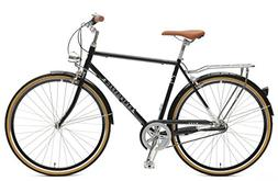 Retrospec Mars Hybrid City Commuter Bike, 54cm/Medium, Black