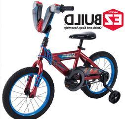 Marvel Bikes for Boys 16 Inch Huffy Spiderman Bicycle Bike K
