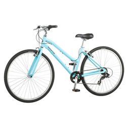 Schwinn Womenss Median Hybrid Bike - Powder Blue Bicycle Fra